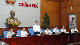 Phiên họp tự phê của Ban Cán sự Đảng Chính phủ