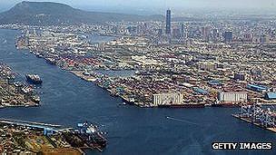 Puerto de Kaohsiung, Taiwan