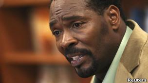 Rodney King, víctima de abuso policial en Los Ángeles en 1991