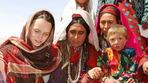 Mujeres del corredor de Wakhan