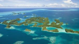 Quốc đảo Palau ở Nam Thái Bình Dương