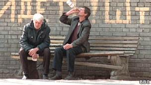 Alcoholismo Rusia