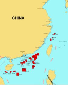 26 lô dầu khí mà CNOOC gọi thầu