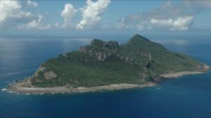 Một hòn đảo trong quần đảo tranh chấp