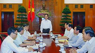 Một phiên họp của Chính phủ Việt Nam