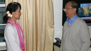 Bà Suu Kyi và ông Thein Sein