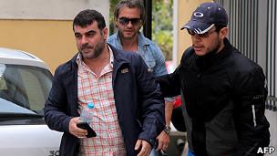 Kostas Vaxevanis, editor de la revista griega Hot Doc