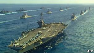 Mỹ - Nhật tập trận chung
