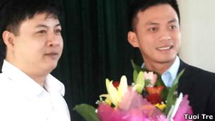 Ông Nguyễn Bá Cảnh (ảnh của Tuổi Trẻ)