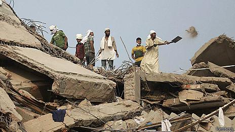 El derrumbe de Bangladesh