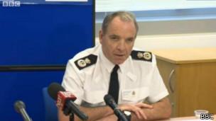 Jefe de policía del norte de Gales, Mark Polin