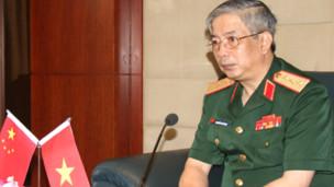 Ông Nguyễn Chí Vịnh trong cuộc họp báo