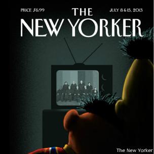 Beto y Enrique. Portada de New Yorker