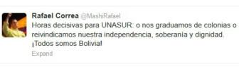 Twitter Rafael Correa