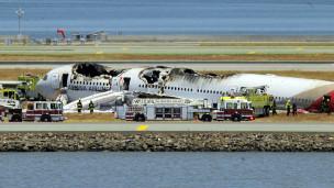Accidente aéreo en San Francisco
