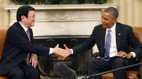 Lãnh đạo Mỹ và Việt Nam