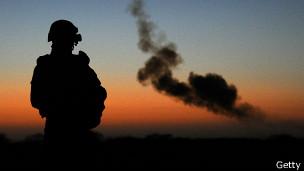 Soldado francés en Mali