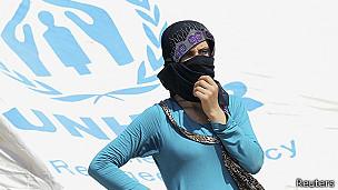 Una refugiada en Irak