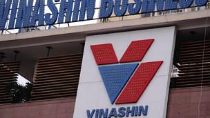 Biển hiệu của Vinashin