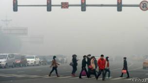 Contaminación en Harbin