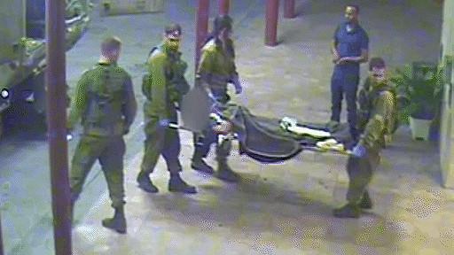 Israelíes trasladan a herido sirio