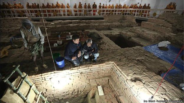 Templo budista en Lumbini