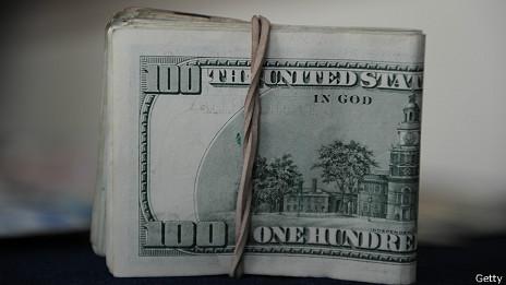 Fajo de dolares