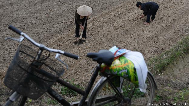 Người dân ở Bắc Giang