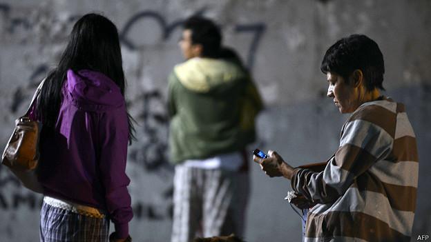 Usuario de teléfono móvil