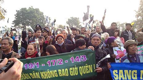 Người dân tưởng niệm hải chiến Hoàng Sa 40 năm ở Hà Nội