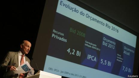 CEO das Olimpíadas do Rio apresenta orçamento   Crédito: Reuters