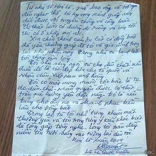 Lá thư Tết Giáp Ngọ của LS Lê Quốc Quân