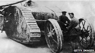 tanque primera guerra mundial
