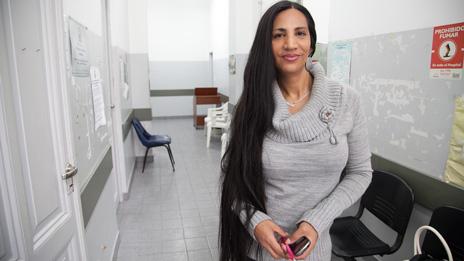 Yesica, activista trans.