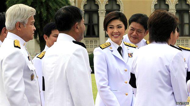Exprimera ministra Yingluck Shinawatra