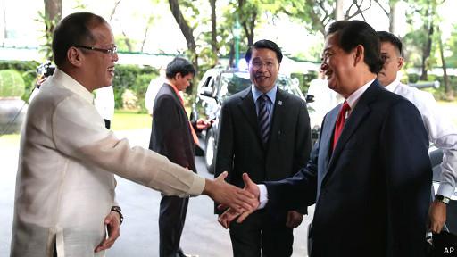 Lãnh đạo VN và Philippines