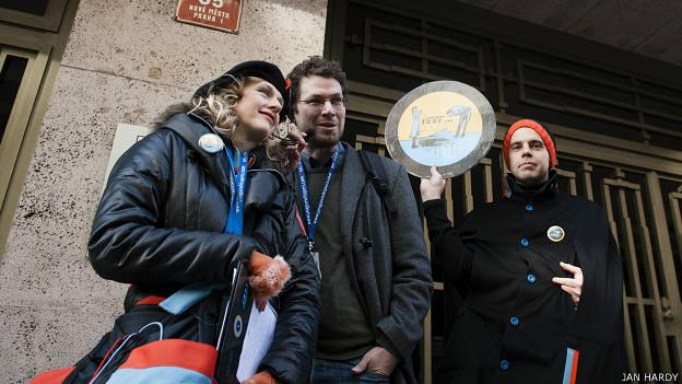 Uno de los tours de corrupción en Praga