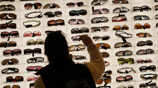 Amplia selección de gafas de sol.