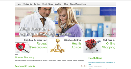 Alrewaspharmacy.co.uk Big Choice Generic Drugs