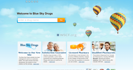Bluskydrugs.com Web's Pharmacy
