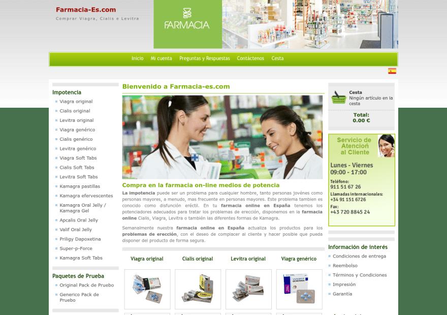 Farmacia-Es.net 24/7 Online Support