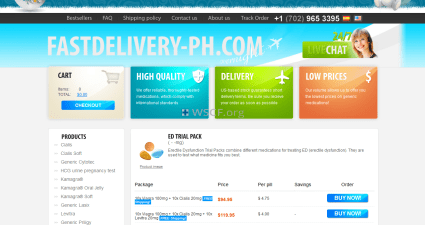 Fastdelivery-Ph.com Internet Drugstore