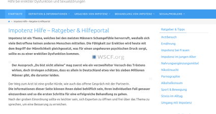 Impotenz-Hilfe.net Reliable Medications