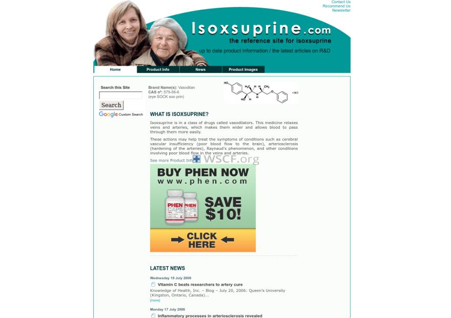 Isoxsuprine.com Fast Worldwide Delivery