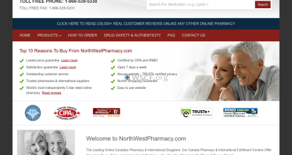Northwestpharmaccy.com Reliable and affordable medications
