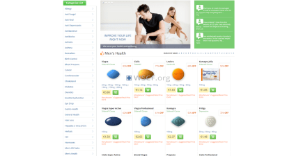Your-Pills-Store.com Web's Drugstore
