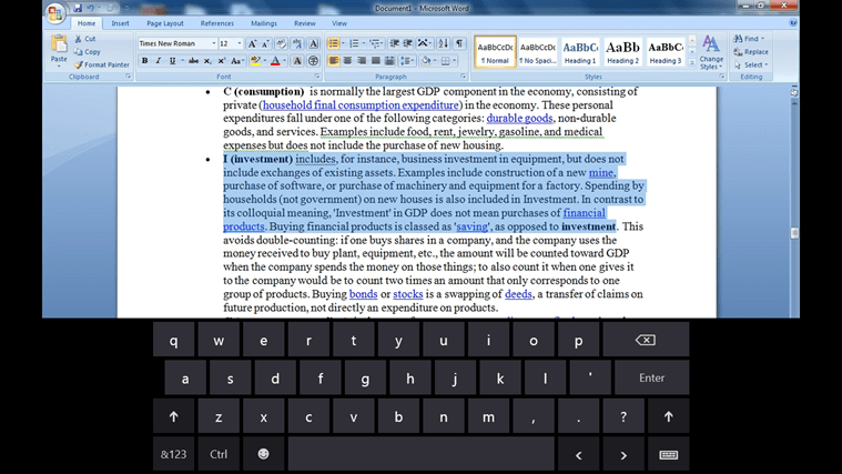 Access Microsoft Word remotely