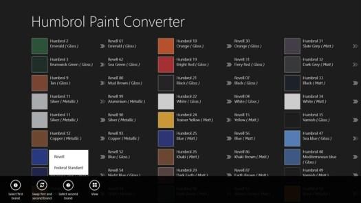 Humbrol Enamel Paint Conversion Home Painting