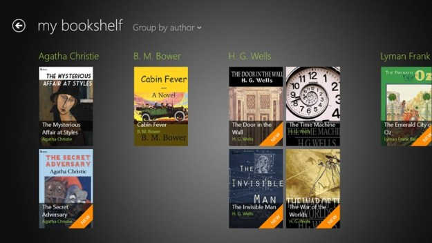 Screenshot.250855.1000005 - Windows 8 App: Bookviser–The Best ePub Reader For Windows 8