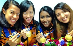 Malaysia win Gold at the Asian Games